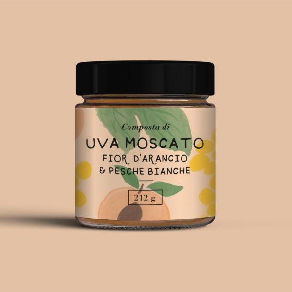 Composta-Uva-moscato-fior-d-arancio-e-pesche-bianche-Casa-sulla-Collina