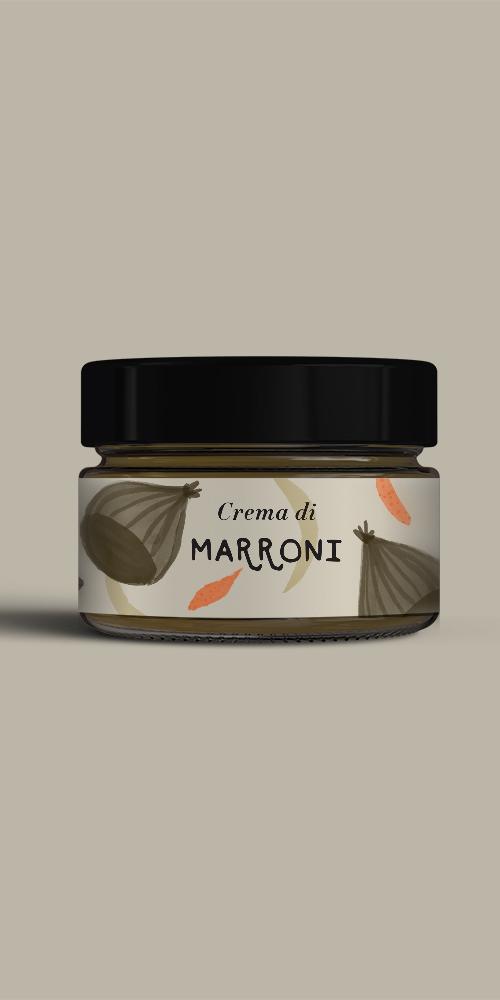 Crema di Marroni e Cioccolato fondente