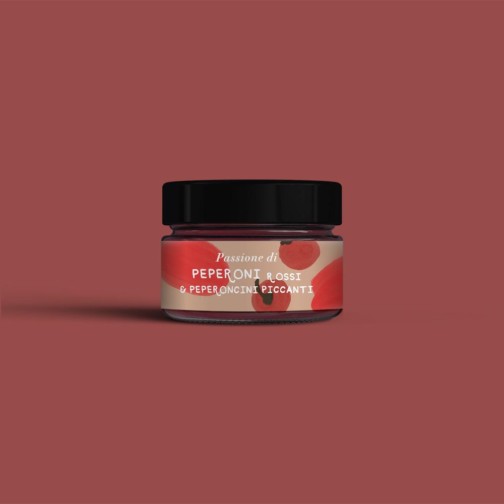 Passione di Peperoni rossi e peperoncini piccanti