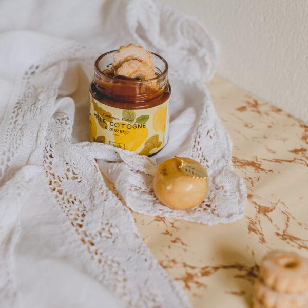 Confettura extra di mele cotogne e zenzero_02